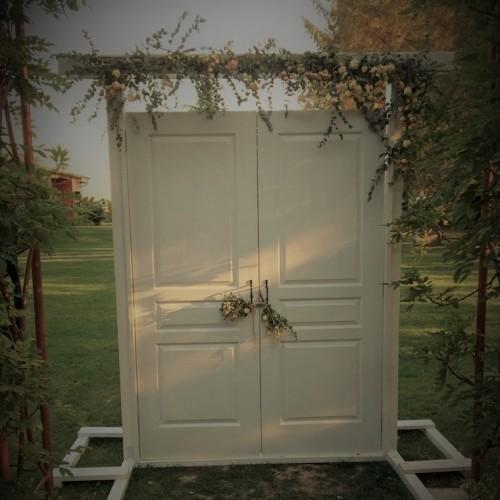 Love is an open door